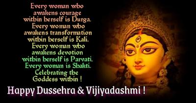 Durgaa, Happy dussehra and vijayadashmi.