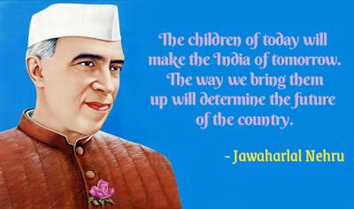Pandit Nehru, Children's day.